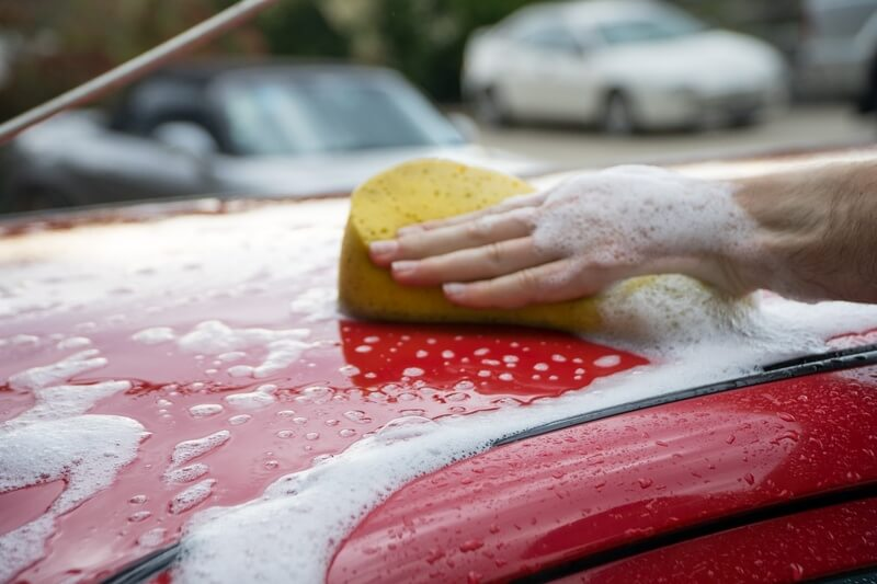 Does Foam Help Clean Your Car