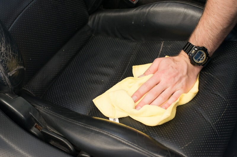how to clean auto upholstery using Autoglym