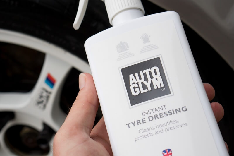 how to clean wheels using Autoglym