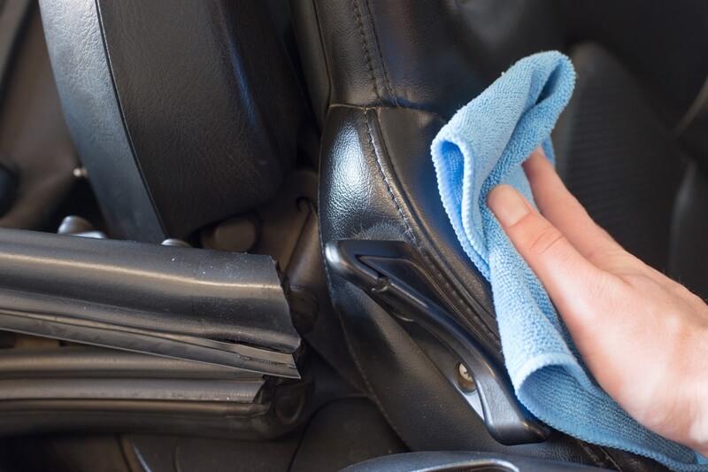 protecting leather seats - Autoglym