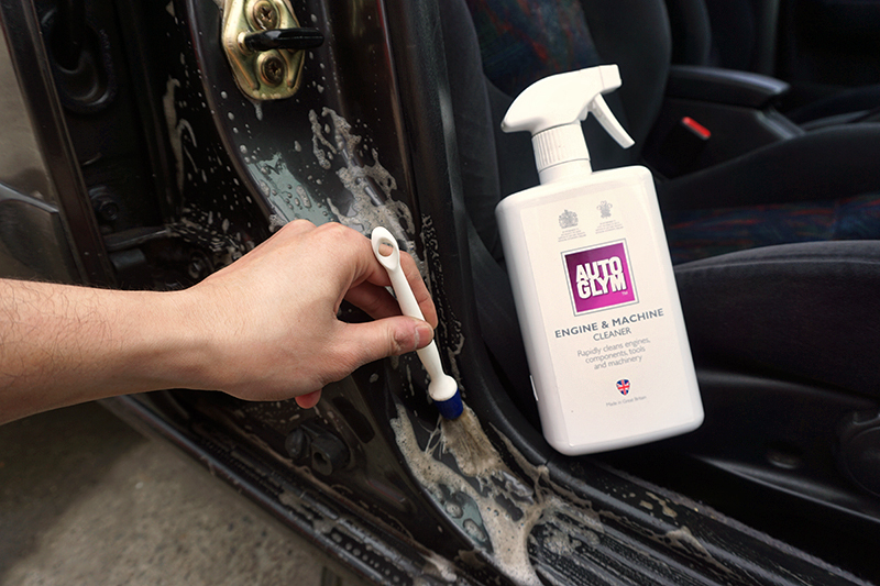 car door jamb. Perfect Car To Remove The Cleaning Solution Simply Use A Concentrated Jet Hose And  Away Solution From Car Throughout Car Door Jamb I