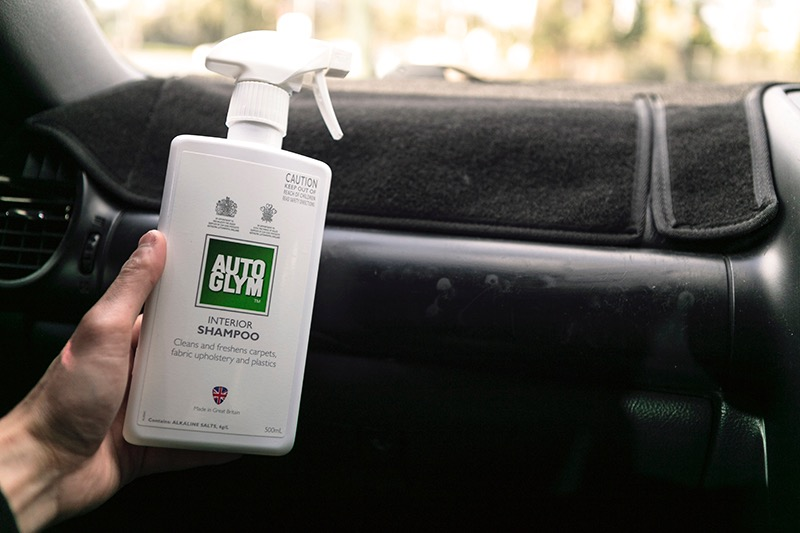autoglym how to clean your sticky vinyl dash autoglym